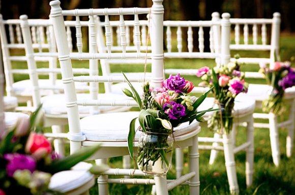 Conception et création de bouquet de fleurs pour un mariage Avignon